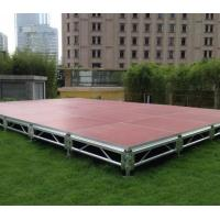 Quality SGS Safety 1.22x1.22m Aluminum Frame Wedding Stage Materials / Concert Stage / Portable Stage Platform for sale