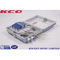 Buy cheap GPON Ftth Distribution Box / Optical Fiber Termination Box Long Life Time from wholesalers