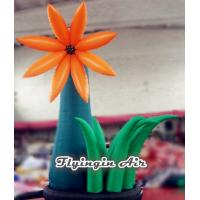 Wholesale 4m Height Ground Inflatable Flower for Event And Wedding Decoration from china suppliers