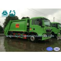 Wholesale 4X2 Howo Light Duty T5G Garbage Compactor Trucks Air Suspension System from china suppliers