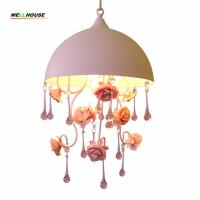 Wholesale Crystal chandelier lighting indoor home lighting hanging lamp lustres para sala Bedroom Kitchen Kids room light from china suppliers