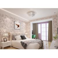 Wholesale Elegant Non - woven Modern Removable Wallpaper  / Leaf Pattern Wallpaper from china suppliers