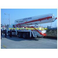 Wholesale Howo 37meters boom concrete pump truck with output 125m3 / h from china suppliers
