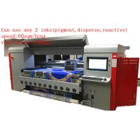 Buy cheap 1.8m Dx5 Digital Textile Printing Machine Disperse / Reactive /  Pigment Ink from wholesalers