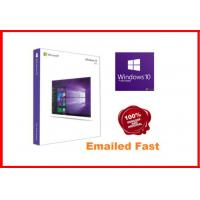 Wholesale Windows 10 Pro Retail Box , Win 10 Pro Pack  64 Bit 3.0 usb flash drive activated online working lifetime from china suppliers