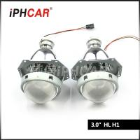 Quality OEM ODM Auto parts Universal 3.0 inch hid xenon projectcor fit with light guide angel eyes for toyato H1 H4 H7 for sale