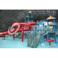 Wholesale Large Kids Water Play Equipment / Mini Water House With Children Slide , 11.5*12.5*6.5m from china suppliers