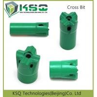 Wholesale 29mm - 60mm Diameter High Speed Mining Bits Cross Taper 7 11 12 Degree from china suppliers