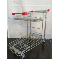 Wholesale Folding Warehouse Storage Equipment 5mm Wire Storage Cage Trolley from china suppliers