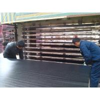 Wholesale Anti Slip Fireproof black face film plywood for Shuttering , WBP or Melamine Glue from china suppliers