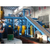 Wholesale Sustainable Eco Friendly 500 Kg/H Capacity Waste Tyre Recycling Machine For Crushing Rubber / Tyre from china suppliers