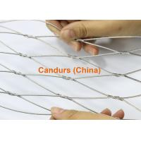 Wholesale Stainless Steel Knotted Mesh-Flexible Hand Woven Wire Rope Mesh from china suppliers