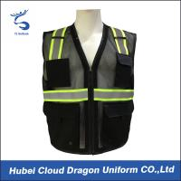 Wholesale Sleeveless Reflective Tape Security Guard Vest 100% Polyester OEM & ODM from china suppliers