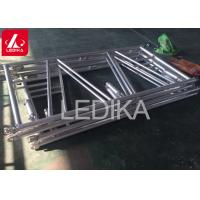 Wholesale Protable Folding Lighting Truss Folding Aluminium Stage Truss In Triangular Shape from china suppliers