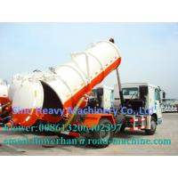 Wholesale Euro 2/3/4 Sewage Pump Truck 4 X 2 10M3 Self Absorption Easy To Operate ZF8098 howo swz from china suppliers