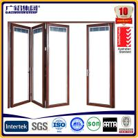 Wholesale aluminum thermal break folding door from china suppliers