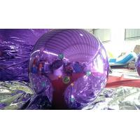 Wholesale 1M Inflatable Mirror Ball Balloons With Logo Printed Purple And Blue from china suppliers