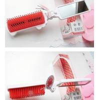 Wholesale Portable Hello Kitty Foldable  Travel Comb With Mirror from china suppliers
