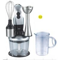Wholesale 3 in 1 Kitchen Aid, 2 Speed 200W Powerful Stainless Steel Hand Blender, Stand Mixer with Stainless Steel Blade from china suppliers