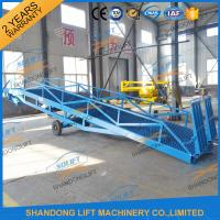 Wholesale 6T-15T Adjustable Warehouse Loading Ramp Mobile Container Yard Ramp CE SGS TUV from china suppliers