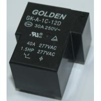 Quality GK-A JQX-105F-1 40A 12V Circuit Board Relays / PCB Mini Power Relay for sale