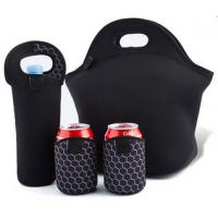Wholesale Neoprene Large Insulated Lunch Bag UV Protection With Smooth Skin from china suppliers