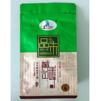 Wholesale flat bottom stand up zipper bag for chinese tea from china suppliers