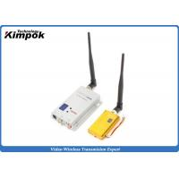 Wholesale 1.5 Watt 1.2ghz 3km Wireless Av Sender With 8 Channels , High Performance from china suppliers
