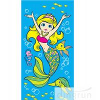 Wholesale Beautiful Promotional Products Beach Towels Cartoon Design Printing For Children from china suppliers