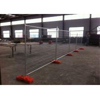 Wholesale Zinc Coated Lightweight Temporary Fencing For Building Sites 2100mmx2400mm from china suppliers