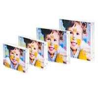 Wholesale colorful acrylic photo blocks  acrylic magnetic photo frame from china suppliers