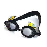Fashionable Kids Swimming Goggles Black Special Design Multi Function