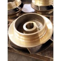 Wholesale Brass / copper alloy impellers in centrifugal pump , copper casting water pump parts from china suppliers