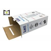 Quality Colorful Printing Corrugated Cardboard Box With Handle For Led Corn Light Packaging for sale