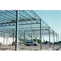 Wholesale Multi Functional Heavy Steel Building Frame , Hot Dip Galvanized Steel Frame Building from china suppliers