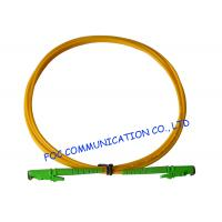 Wholesale E2000 Fiber Optic Patch Cord SM G.652D Fiber Simplex 3.0mm For Telecom Networks from china suppliers