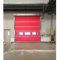 Wholesale Industrial High Speed 1.2mm PVC Curtain Folding Shutter Doors 1.2 M / S Opening Speed from china suppliers