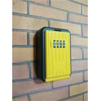 Quality 10 Digit Dialing Combination Original Wall Mounted Key Lock Box 87.5*75*30 Mm for sale