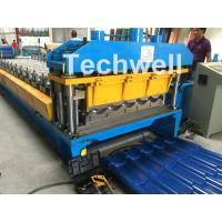 Wholesale 3D Step Tile Roll Forming Machine , Glazed Roof Panel Roll Forming Machine from china suppliers