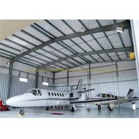 Wholesale Large Span Structurel Steel Airplane Hangars With Frame Use Life 50 Years from china suppliers