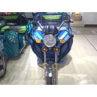 Wholesale Passenger 48V 650W Electric Powered Tricycle Blue With Rear Box from china suppliers