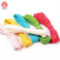 Wholesale 1.5mm Diameter 2 Plies Twisted Paper Rope For Decoration / Polypropylene Tying Twine from china suppliers