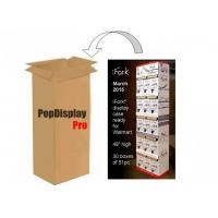 Quality 5 Shelves Cardboard POS Displays for sale