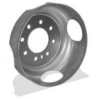 Quality Heavy Trailer Parts And Accessories , Die Casting Deep Drawn Metal Parts For Wheels for sale