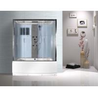 Wholesale Rectangular Clear Glass Shower Enclosures , Rectangular Shower Stalls Kits from china suppliers