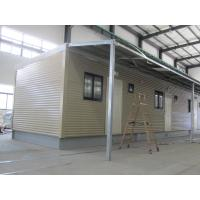 Wholesale Fully Decorated Finished Bunk prefabricated House / Yellow Contemporary Modular Homes from china suppliers