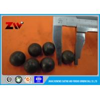 Wholesale High hardness 20mm-100mm grinding media steel balls HRC 58-64 from china suppliers