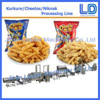 Wholesale commercial Kurkure Snack Production Line cheetos cheese balls equipment from china suppliers