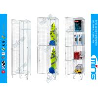 Wholesale Single Door Wire Display Stands Mesh Lockers For Drying Wet Clothing from china suppliers