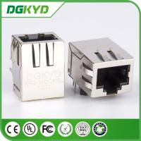 Wholesale Shield single Port CAT6 RJ45 CONNECTOR, side entry, 1000BaseT from china suppliers